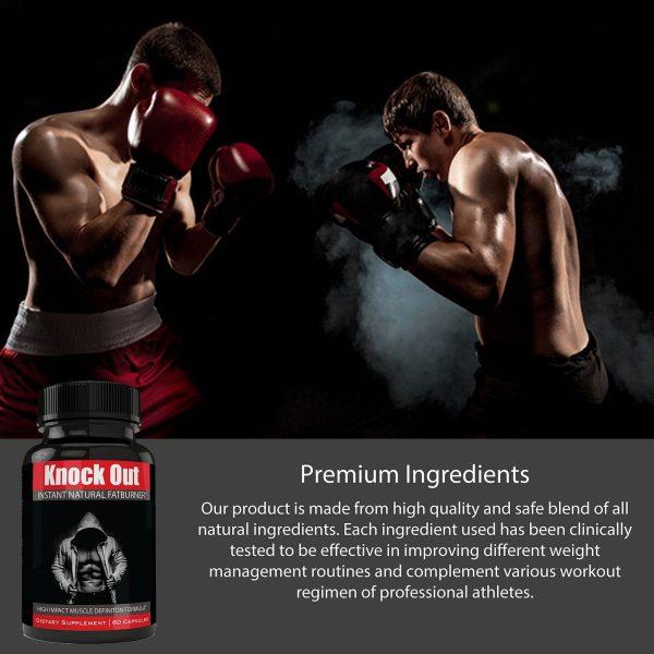 Instant Knockout Fat Burner Diet Supplement Pill for Men and Women - High Imp... 6
