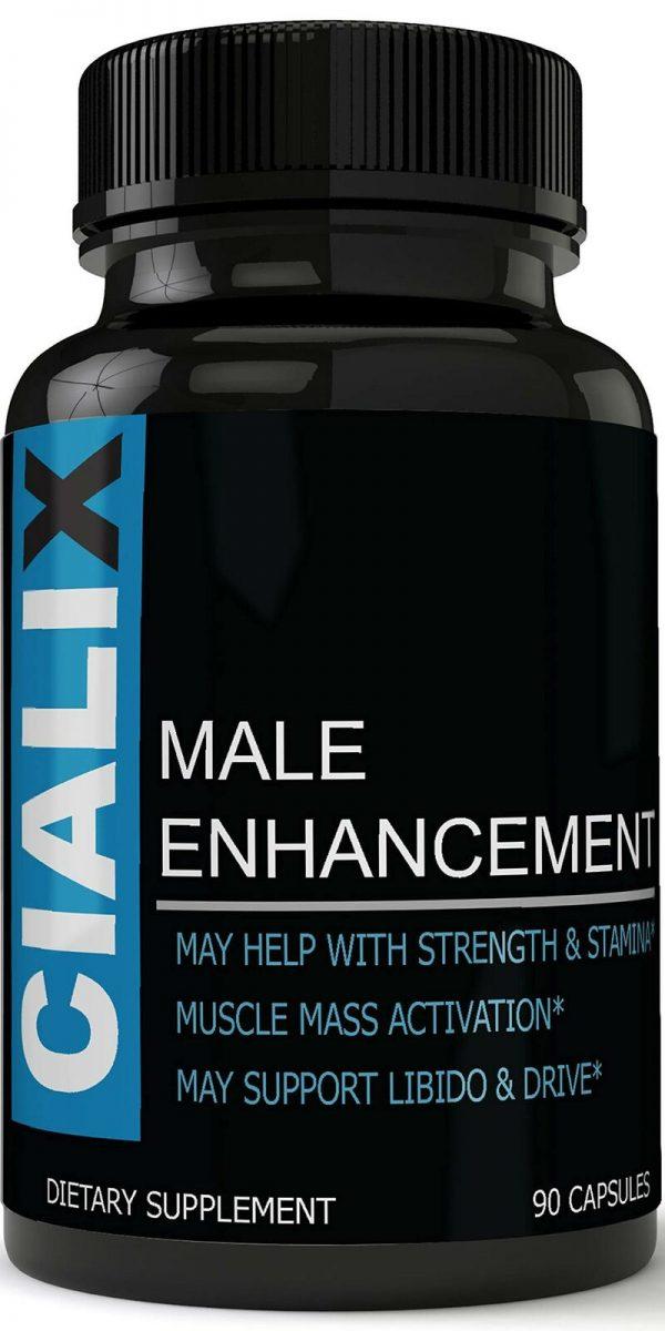 Cialix Male Enhancement Supplement Enhancing Pills for Men 1 Month Supply