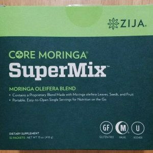 Zija SuperMix. Core Moringa Oleifera 32 Packets. New & Sealed