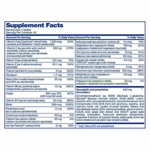 FOCUSfactor Americas #1 Brain supplement 180 tablet improve memory concentration 1