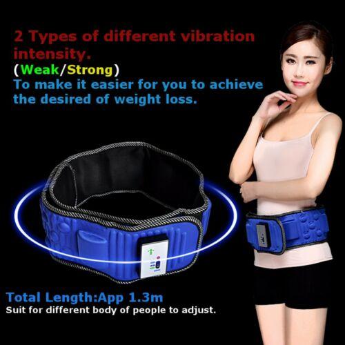 Electric Sauna Slimming Belt Body Shaper Weight Loss Waist Fat Cellulite 2