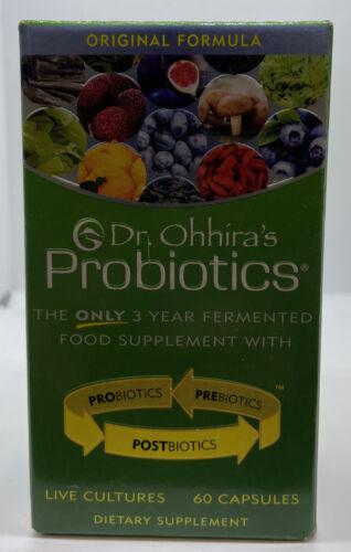 Dr. Ohhira's PROBIOTICS, 60 Capsules | + PREBIOTIC & Postbiotic Exp: 2023