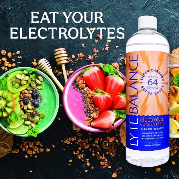 Lyte Balance Electrolyte Concentrate Naturally Hydrating Energy Boost 8