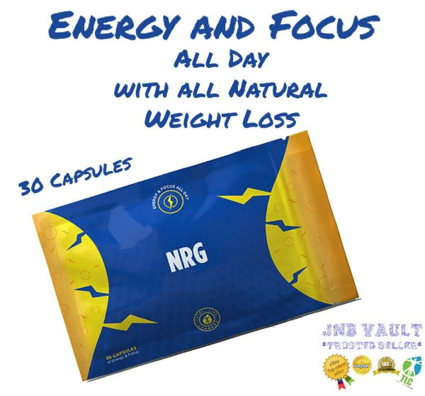 💥💥💥SALE🔥🔥🔥TLC Iaso NRG Weight Loss Energy Focus 30 Capsules 1 Month Supply