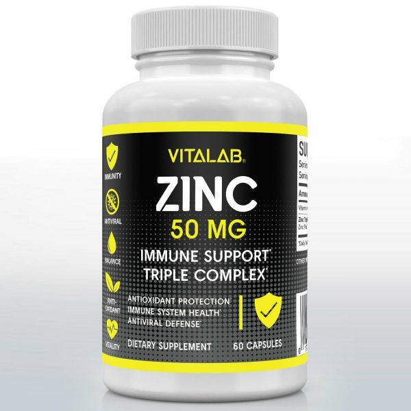 Zinc Complex Extra Strength 50mg Immune Support Zinc Picolinate Supplements 1