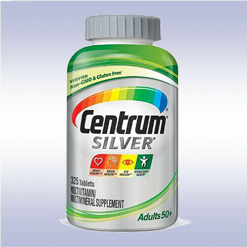 CENTRUM SILVER MULTIVITAMIN 50+ (275 - 325 TABLETS) [MENS / WOMENS / ADULT]   2