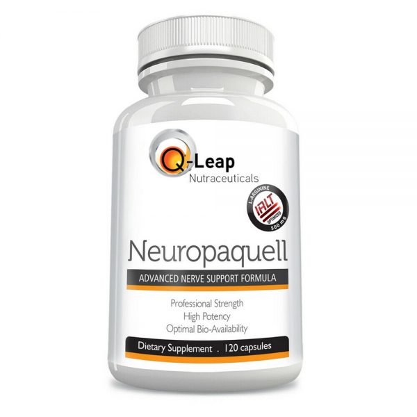 NEUROPAQUELL Clinical Strength Neuropathy Pain Relief Adv Nerve Support Formula