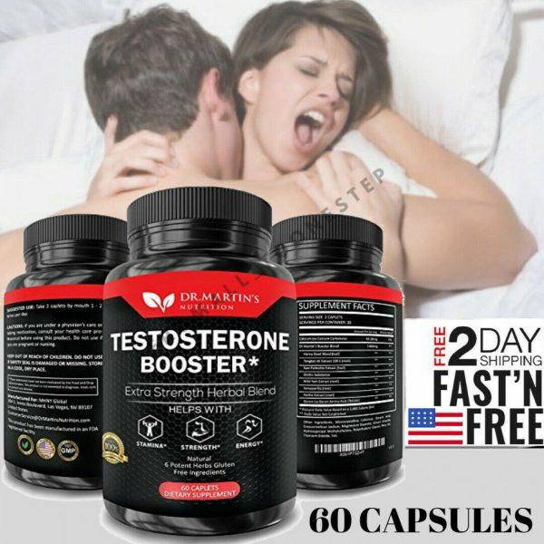 Pastillas De Testosterona Para Hombres Naturales - Potenciador De Testosterona