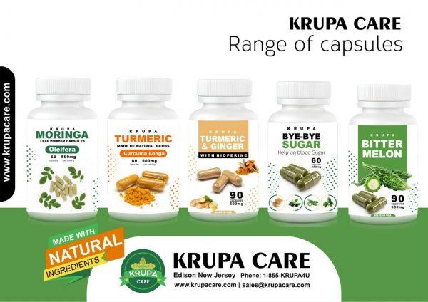 """KRUACARE"" BYE BYE Suger Help on Blood Sugar , Diabetic Supplement  60 capsuals 7"