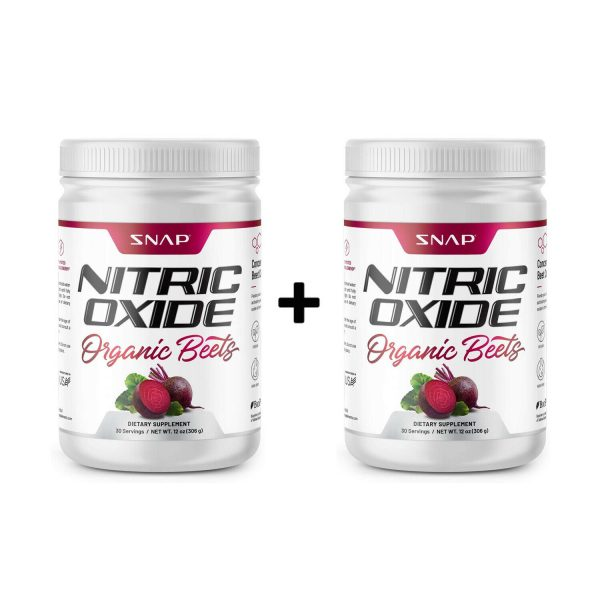 Organic Nitric Oxide Beets Root 306g: Super Food, Muscle, Heart Health - 2 Pack