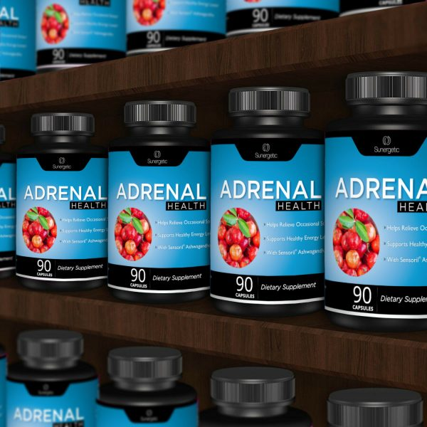 Adrenal Support Supplement - Supports Healthy Adrenal Function-90 Capsules 6