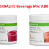 HERBALIFE Beverage Mix 9.88 Oz - 2 FLAVOR - FREE SHIPPING