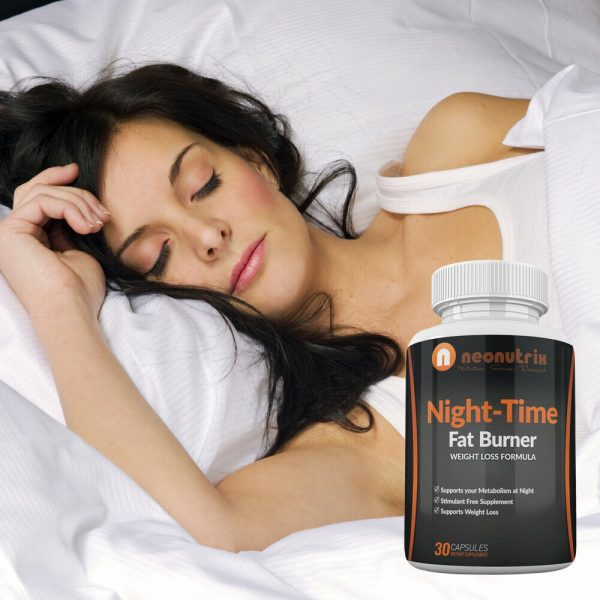 Night Time Fat Burner Weight Loss Pills for Men and Women Burn Fat 3