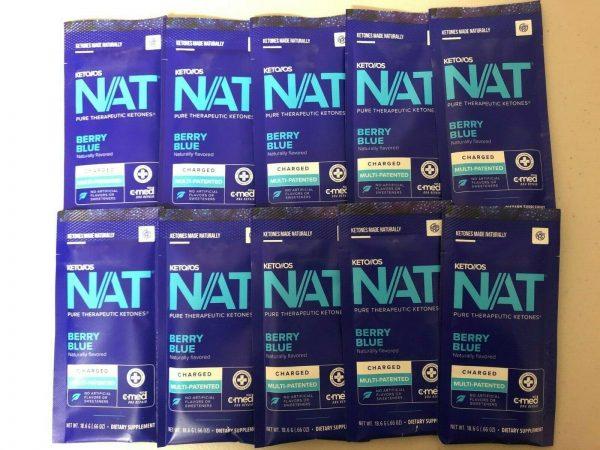 Pruvit Keto OS Nat Berry Blue (Charged) 5, 10 & 20 Packs FREE SHIPPING 2
