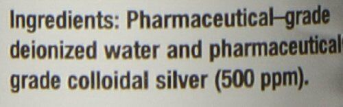 Natural Path Silver Wings Colloidal Silver Mineral Supplement, 500 Ppm, 1 Flu... 2