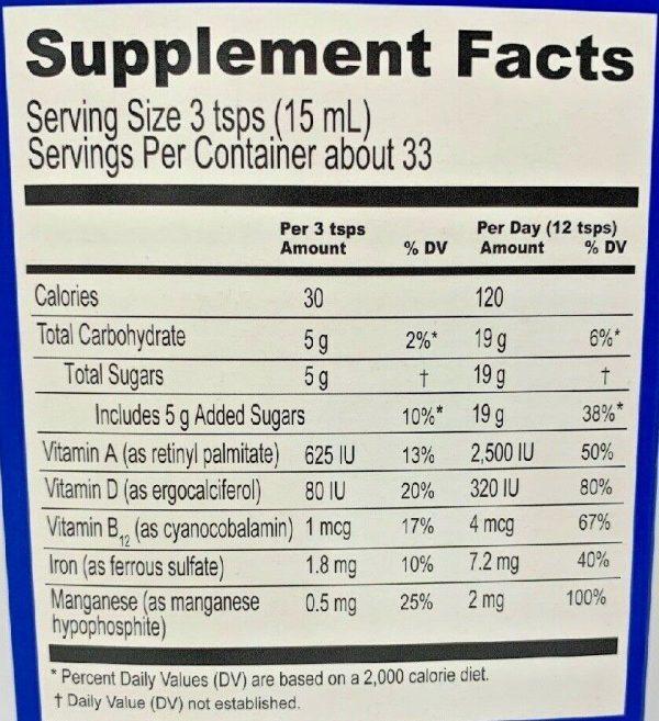 Ferrol Compound Dietary Supplement 16.5 oz (500 ml) 2