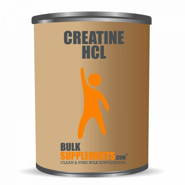 BulkSupplements.com Creatine HCl 6