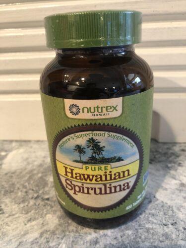Pure Hawaiian Spirulina 500mg Tablets 400 Count Nutrex Hawaii Sealed Free Ship!