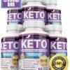 6 x Herbal Beauty KETO BHB 1200mg PURE Ketone FAT BURNER Weight Loss Diet Pills