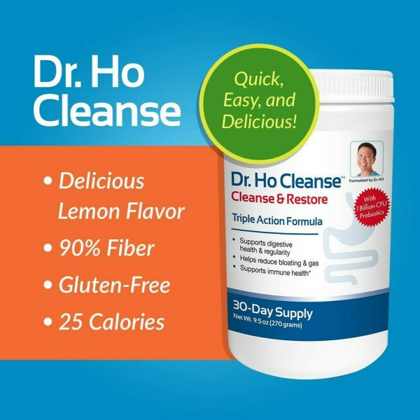 Dr. Ho Cleanse & Restore - Detox - Eliminate Built-Up Toxins and Waste 2