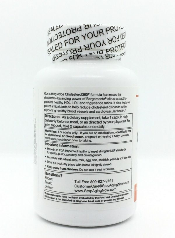 Cholesterol360 Supports Healthy Cholesterol Levels Cholesterol 360 NEW 1