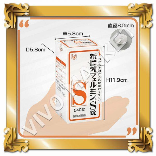 Japan Supplement New BIOFERMIN S Lactic Acid Bacterium 540 Tablets FS 6