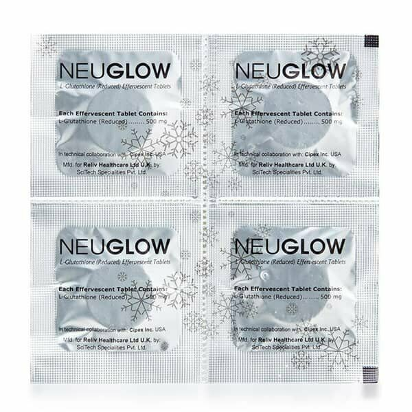 Neuglow L-Glutathione Premium White 28 Whitening effervescent tablets 3