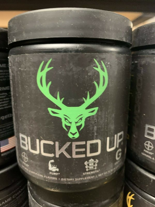 Bucked Up Pre-Workout 30 servings DAS Labs Pick Flavor Fast Free Shipping 8