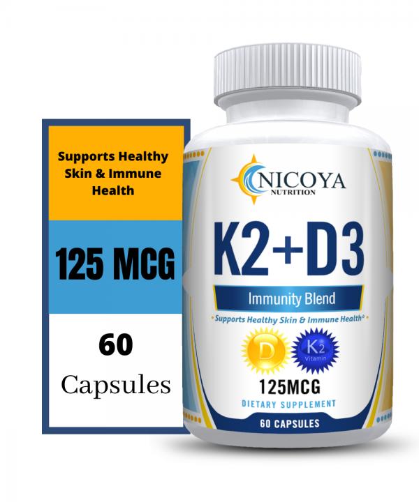 Vitamin K2 D3 Vitamin Supplement with BioPerine, Boost Immunity & Heart Health 4