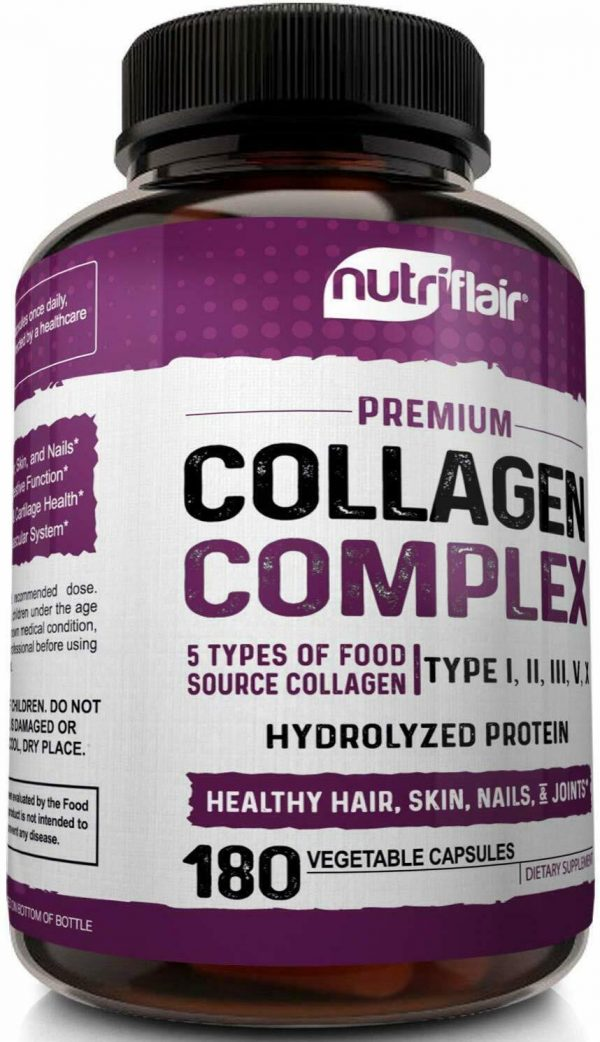 Multi Collagen Peptides Capsules 2250MG - Healthy Bones, Hair, Skin, and Nails 3