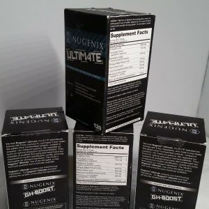 (LOT OF 4) Nugenix Ultimate Testosterone Booster- 120 Tablets 1