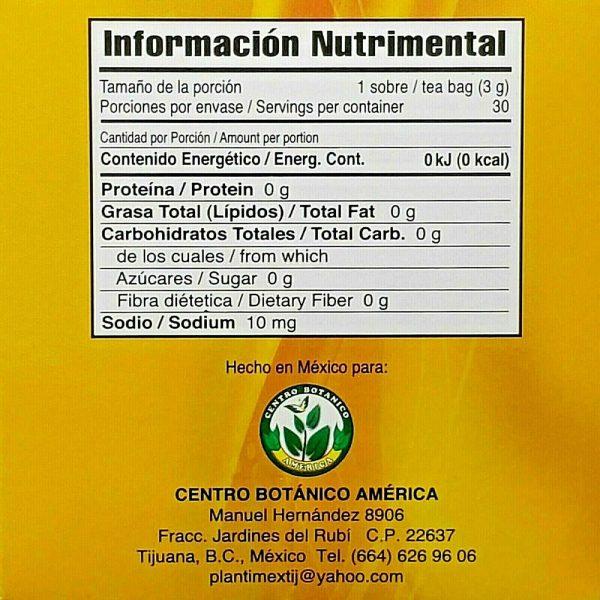 TE DE CHUPA PANZA TEA Jegibre + Bamitol 30 Bags (Accion Xtreme) Free Shipping 7