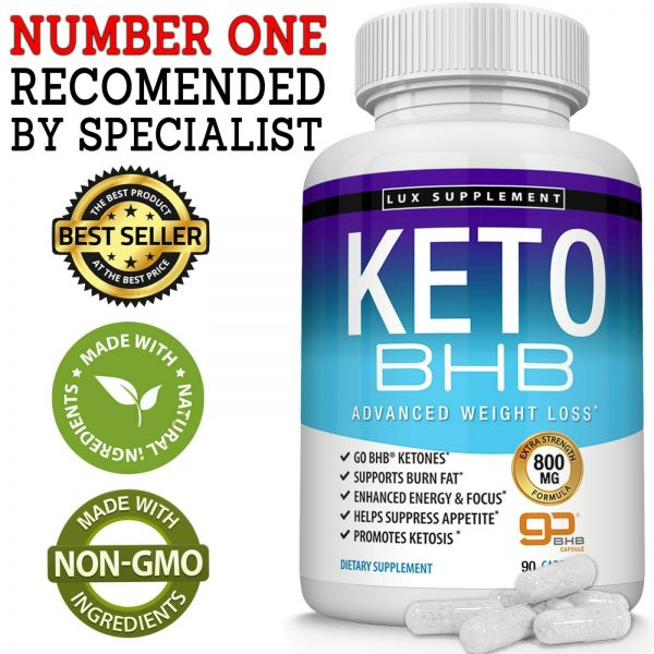 Ultra Fast Keto Diet Pills BHB 1200 MG Weight Loss 180 CAPSULE Ketogenic Burner 2