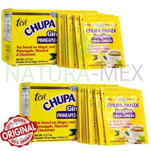 ORIGINAL‼️ 2 PACK Chupa Panza Detox Ginger Tea 60 Day Supply Te Chupa Pansa