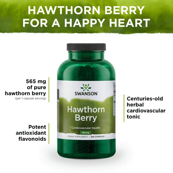 Swanson Hawthorn Berries Supplement | Supports Blood Pressure & Heart Health ... 4