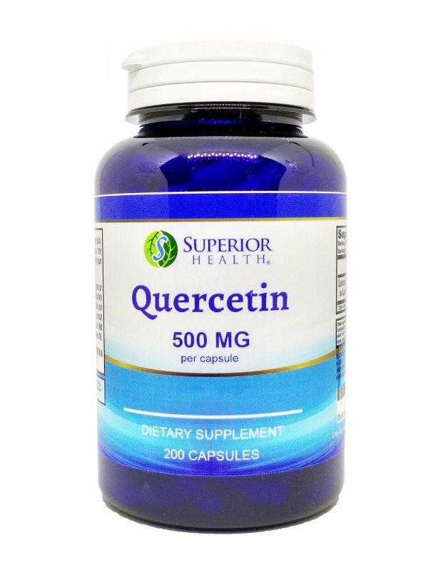 Quercetin 500 mg 200 Capsules