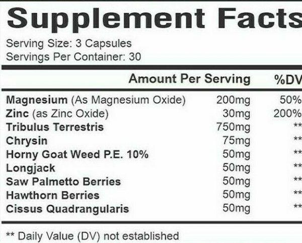 Cialix Men Enhancement Supplement Enhancing 60+30 Pills for men Libido -drive 3