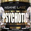 Insane Labz PSYCHOTIC GOLD 35 Servings Pre Workout Powder High Stim PICK FLAVOR