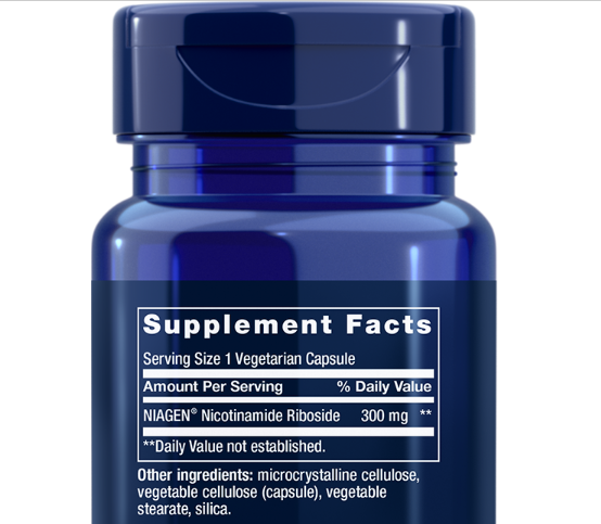 NAD+ Nicotinamide Riboside 300mg 💕 LIFE EXTENSION Cell Regenerator ⭐️ NIAGEN ⭐️ 4