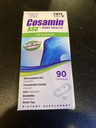 New Cosamin ASU Dietary Supplements 90 Count Exp:02/2022 Or Better!