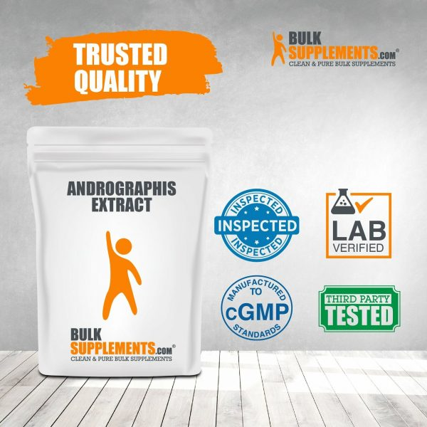BulkSupplements.com Andrographis Extract 8