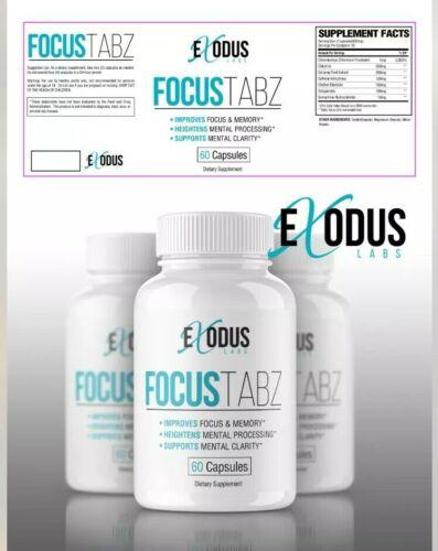 FocusTabz (60 Count) Alternative To Addtabz. Retail $69 adderRx Add plus. 1