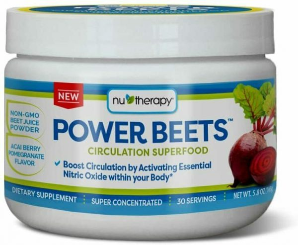 Nu-Therapy Power Beets, Super Concentrated Circulation Superfood, Dietary Sup...