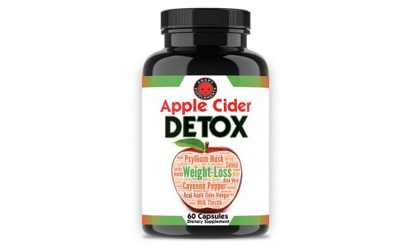 Detox & Cleanse Duo w/ Apple Cider Weight Loss & Detox Colon Cleanse - 2PK 1