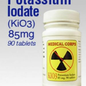 KIO3 90 pills Potassium Iodate Nuclear Anti-Radiation pills