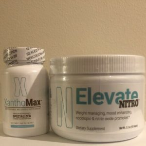 #1 Elevate DOSE NITRO Combo Coffee Tub & XanthoMax Appetite 30 Day Bundle