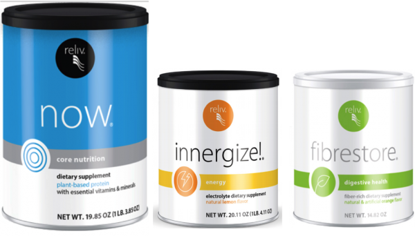Reliv Classic, Now, Innergize, & Fibrestore - Bundle Discount + Free Shipping!!! 3