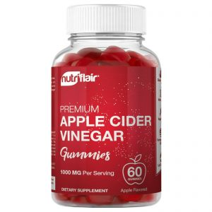 Apple Cider Vinegar Gummies with The Mother - 1000mg, Diet, Keto, Weight Loss 1