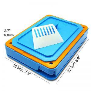 200 Holes Capsules Filler Size 0 Manual Capsul Fillings Machine with Tamper Tool 1