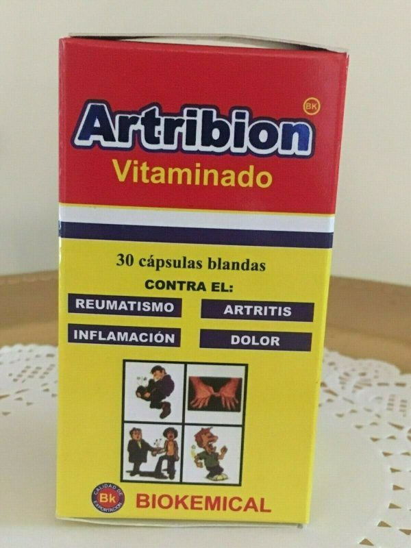 ARTRIBION Vitaminado Artritis, Inflamacion, Dolor, Reumatismo 30 soft Capsules  4
